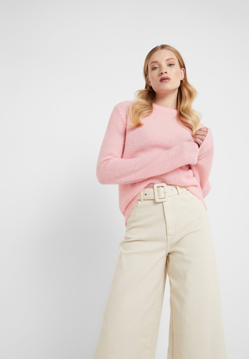 Filippa K - HEATHER - Sweter - taffy pink