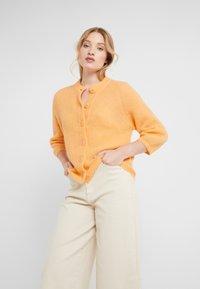 Filippa K - CHARLOTTE CARDIGAN - Vest - pale orange - 0