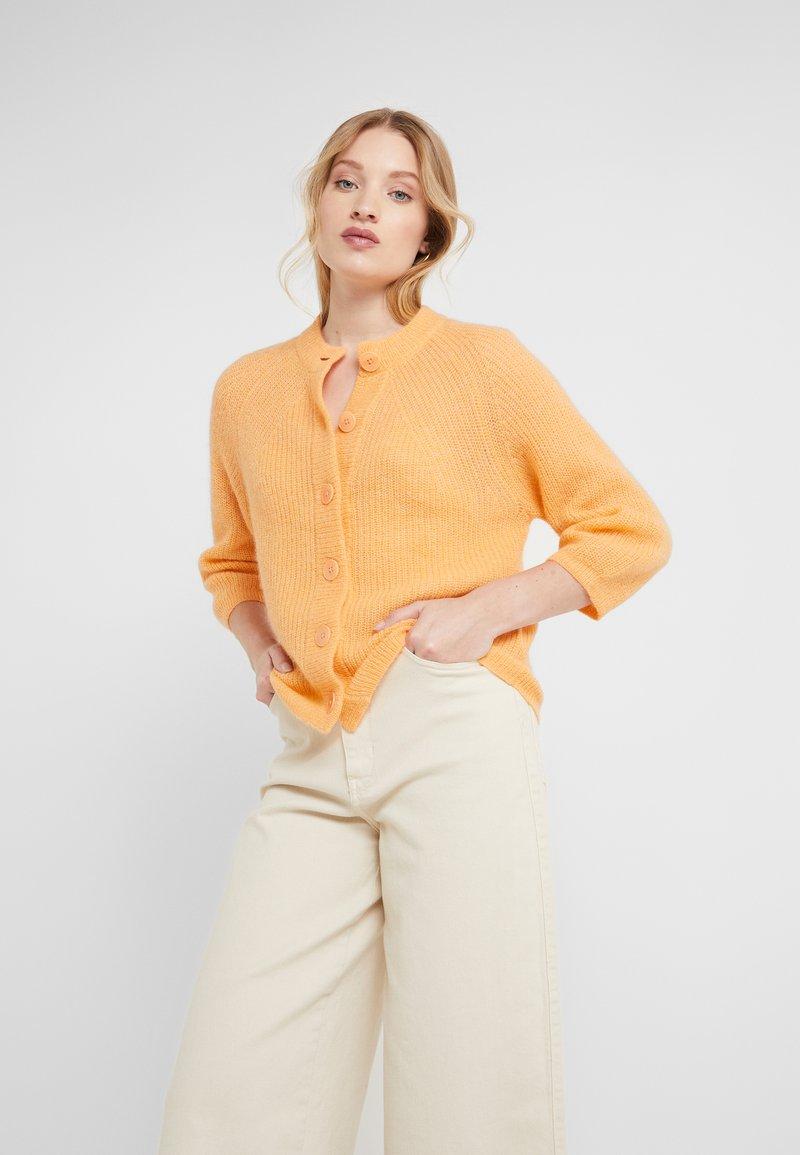 Filippa K - CHARLOTTE CARDIGAN - Vest - pale orange