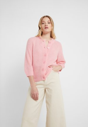 CHARLOTTE CARDIGAN - Strickjacke - taffy pink