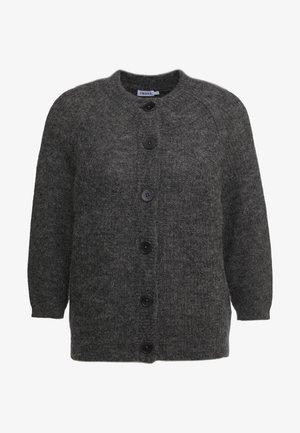 CHARLOTTE CARDIGAN - Cardigan - grey melange