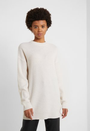 REBECCA SWEATER - Jumper - almond white