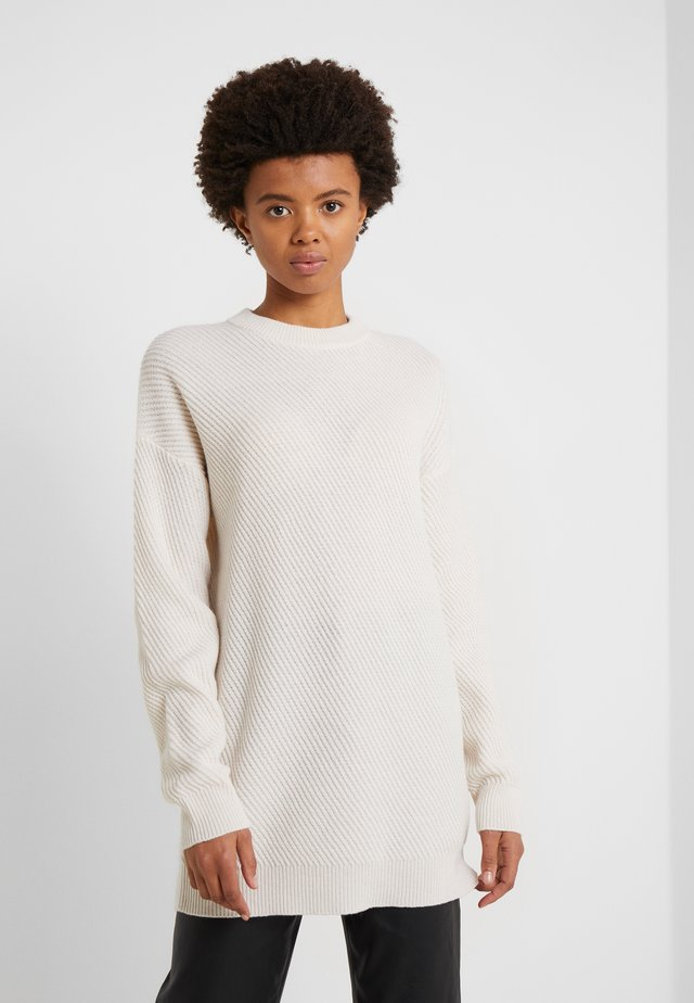 REBECCA SWEATER - Stickad tröja - almond white