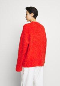 Filippa K - LAUREL - Maglione - red/orange - 2