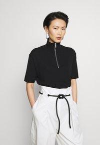 Filippa K - TERRIE - Print T-shirt - black - 0
