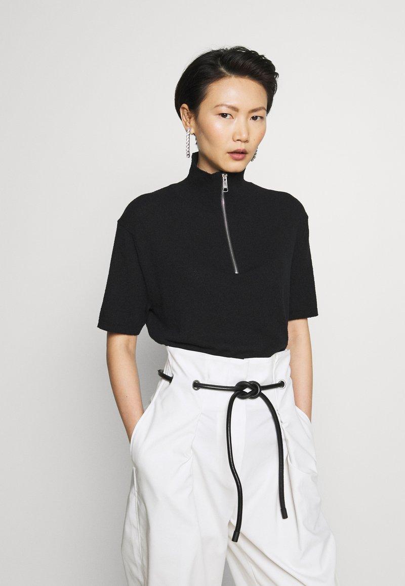 Filippa K - TERRIE - Print T-shirt - black