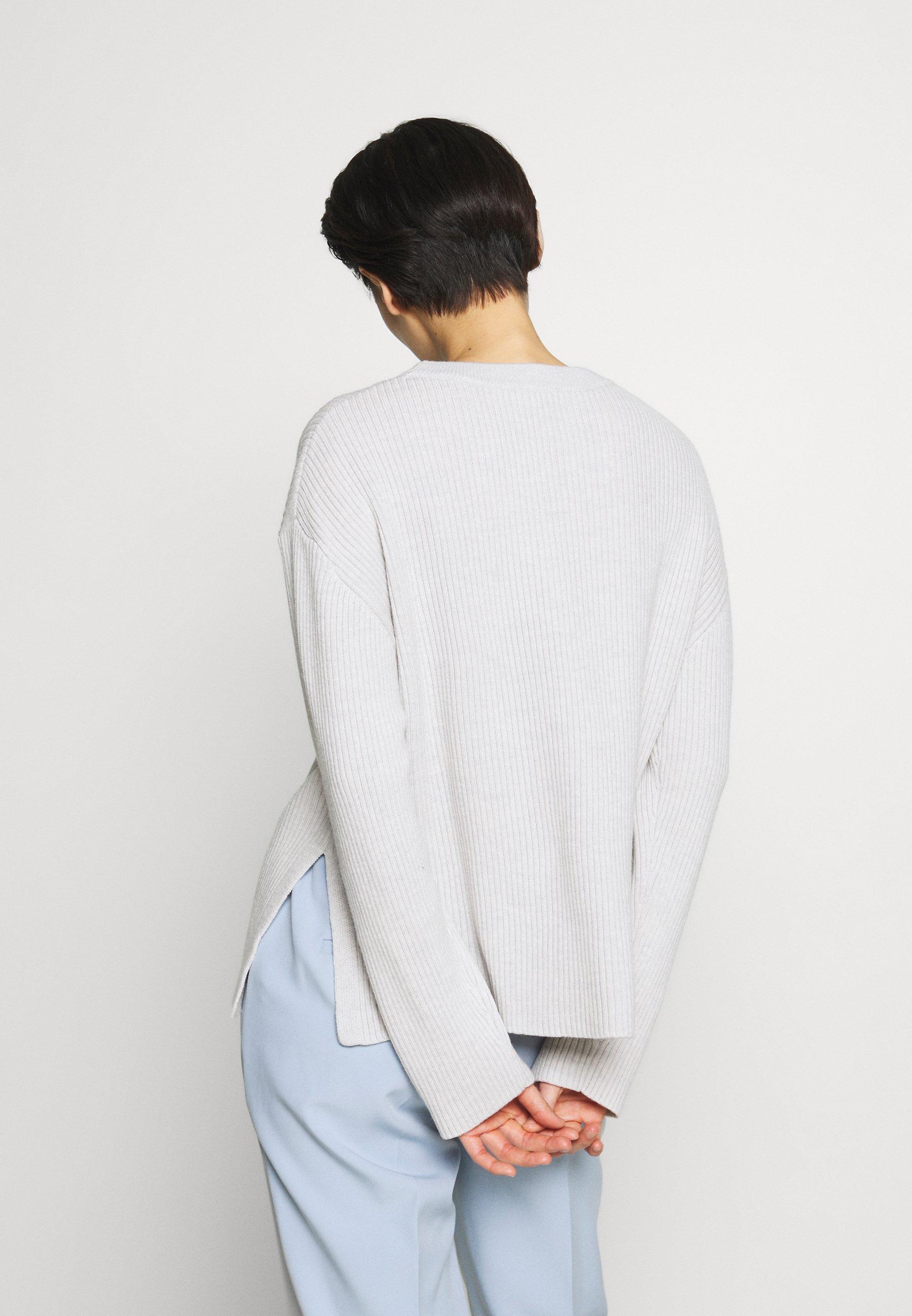 PAULINE SWEATER Stickad tröja sterling