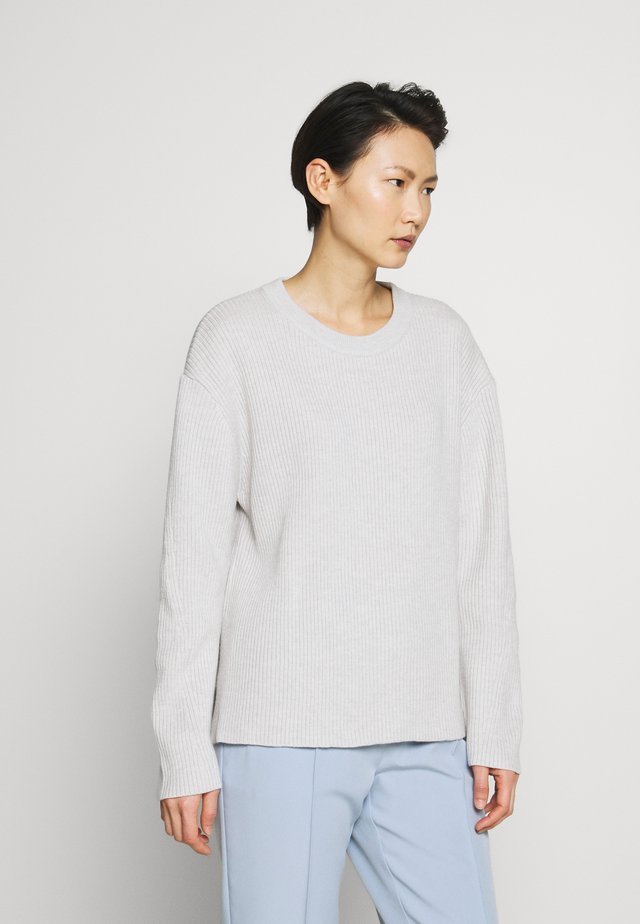 PAULINE SWEATER - Stickad tröja - sterling