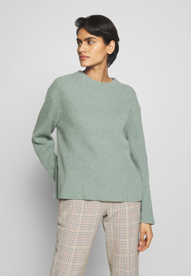 PAULINE SWEATER - Stickad tröja - mint powde