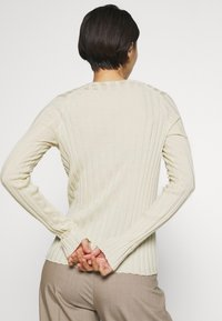 Filippa K - WENDY - Strikpullover /Striktrøjer - faded yell - 3