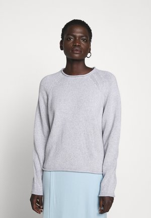 DAHLIA - Strikkegenser - light grey