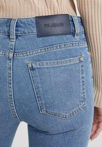 Filippa K - STELLA WASHED - Straight leg jeans - mid blue - 4