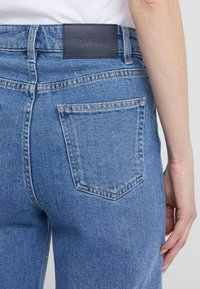 Filippa K - LAURIE WASHED - Flared jeans - mid blue - 4
