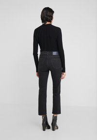 Filippa K - STELLA JEAN - Džíny Straight Fit - black wash - 2