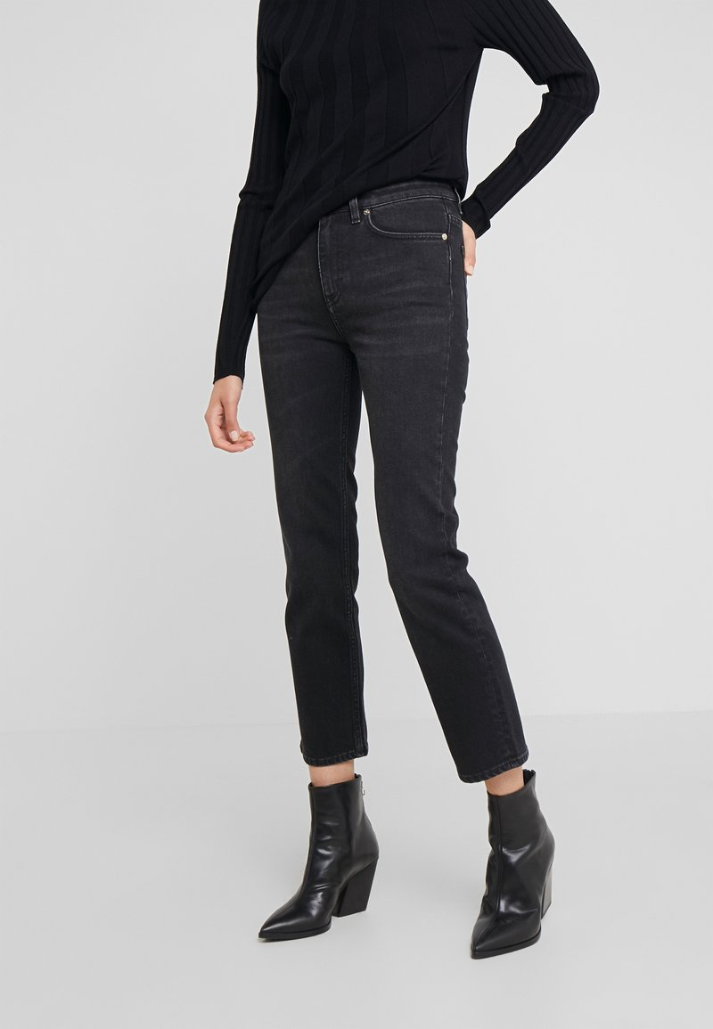 Filippa K - STELLA JEAN - Džíny Straight Fit - black wash