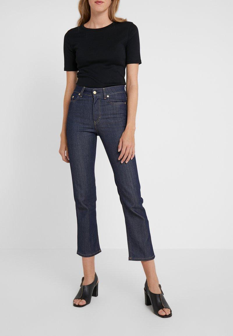 Filippa K - STELLA RAW  - Jeans Straight Leg - dark blue