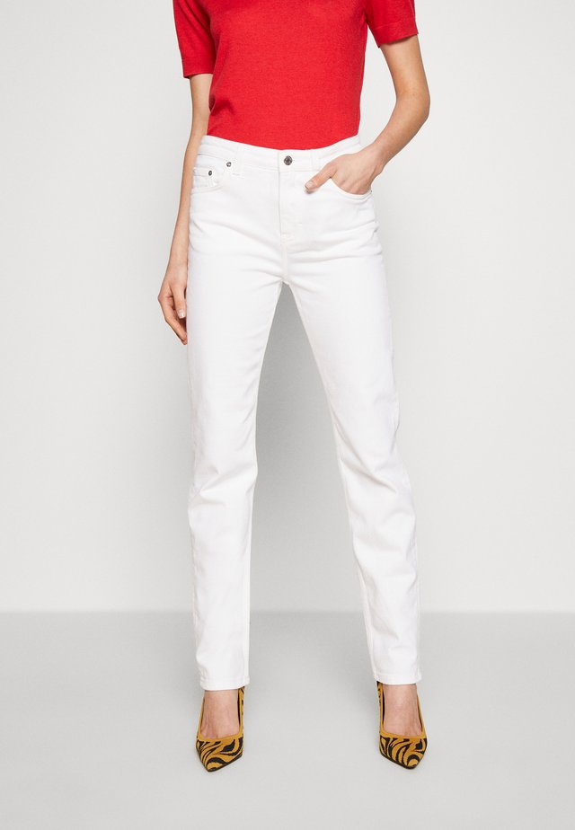 TAYLOR JEAN - Straight leg jeans - coconut white