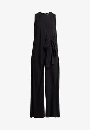 TIE WAIST - Jumpsuit - black