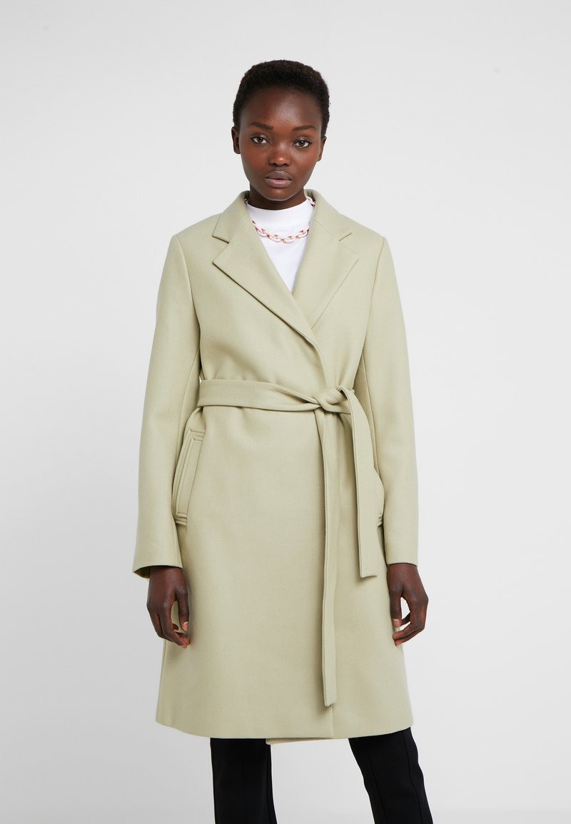 Filippa K - EDEN COAT - Mantel - pyrit gree