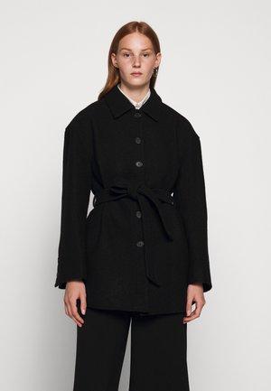 LIMA COAT - Abrigo corto - black