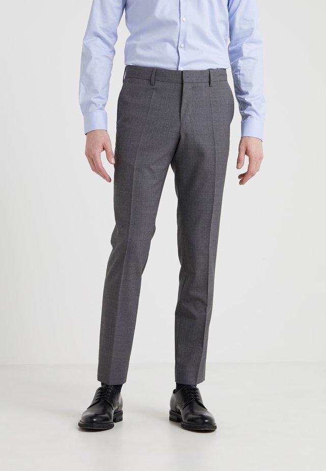 LIAM  - Kostymbyxor - grey mel