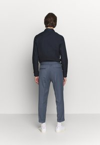 Filippa K - TERRY CROPPED PANTS - Trousers - blue grey - 2