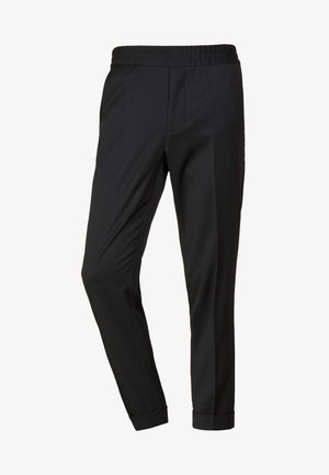 TERRY CROPPED PANTS - Pantaloni - dark spruce