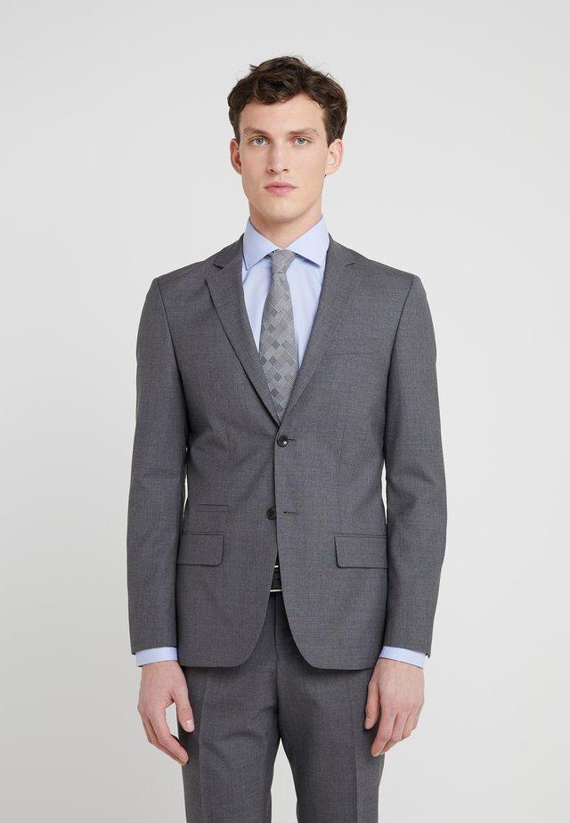RICK COOL JACKET - Jakkesæt blazere - grey melange