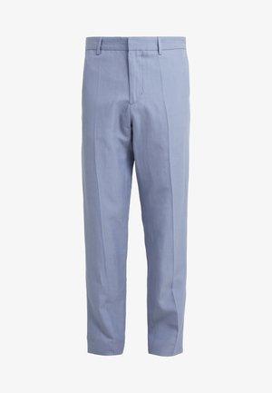 JUSTIN DRAPEY TROUSER - Pantalones - bluestone