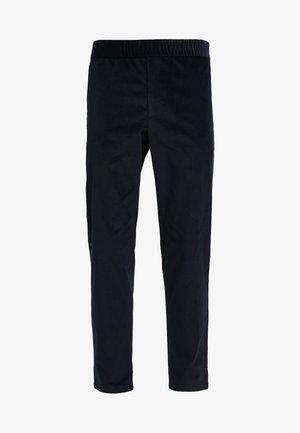 TERRY TROUSER - Broek - dark navy