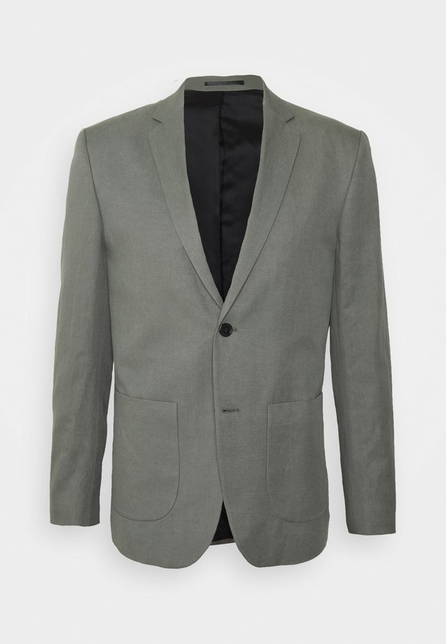 RICK - Blazer jacket - green/grey