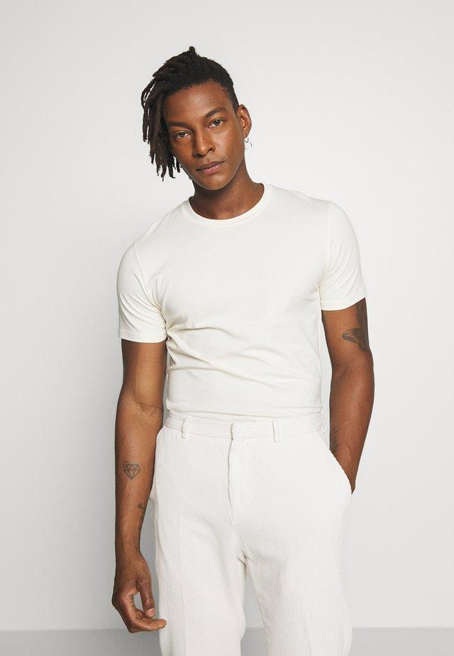 TEE - T-shirt - bas - panacotta