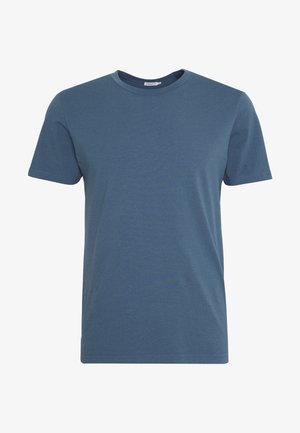 TEE - T-shirt - bas - blue grey