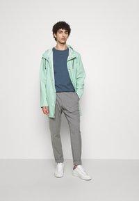 Filippa K - TEE - T-shirts basic - blue grey - 1