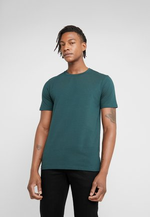 TEE - Basic T-shirt - fern melange