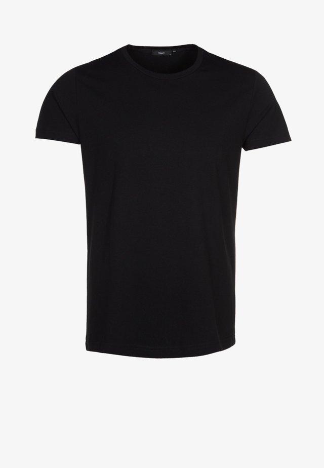 TEE - T-shirts basic - schwarz