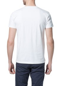 Filippa K - SOFT LYCRA NECK - T-shirts basic - white