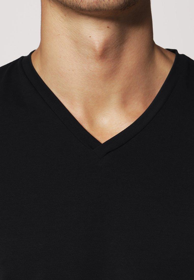 Filippa K SOFT LYCRA NECK - Camiseta básica navy