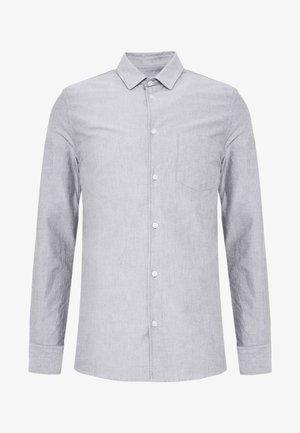 TIM OXFORD SHIRT - Camisa - dark oak white mix