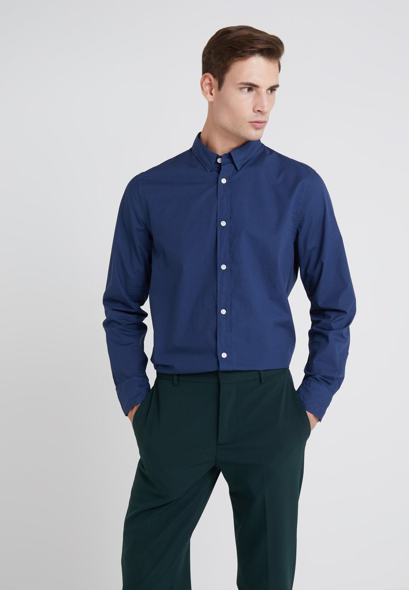 Filippa K - BEN WASHED - Shirt - flag blue