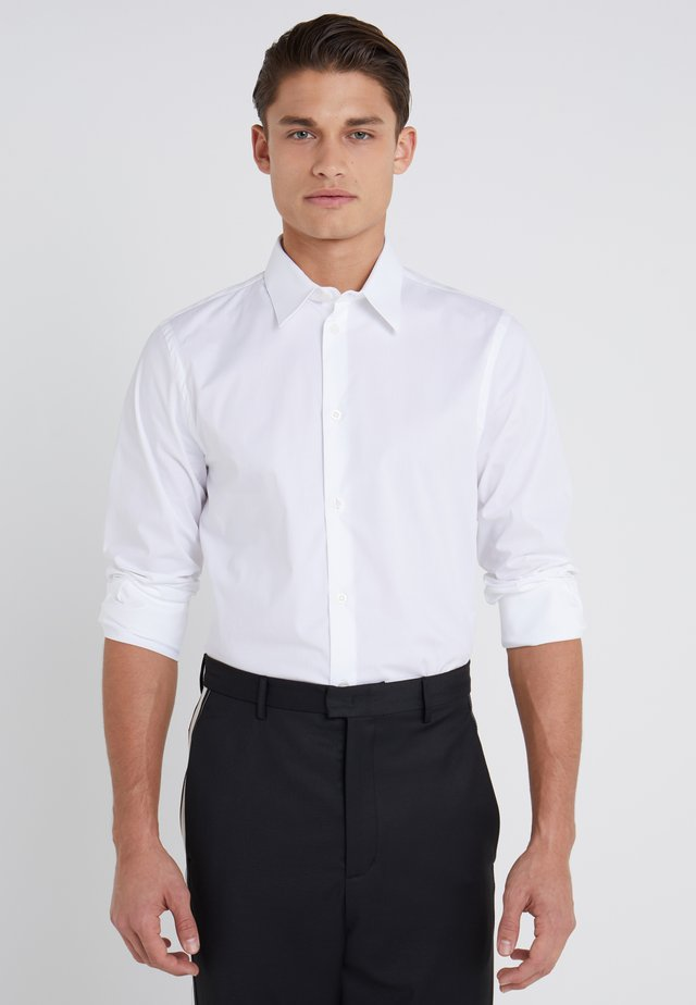 JAMES STRETCH SHIRT - Kostymskjorta - white
