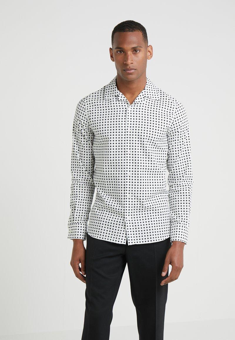 Filippa K - JEAN PAUL - Shirt - navy/off white