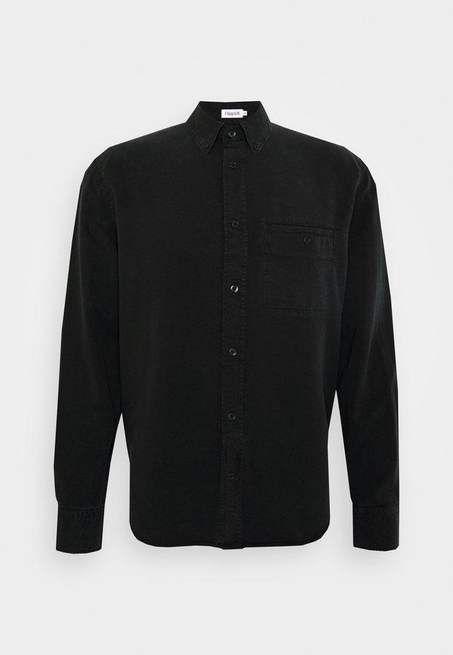 ZACHARY SHIRT - Hemd - almost black