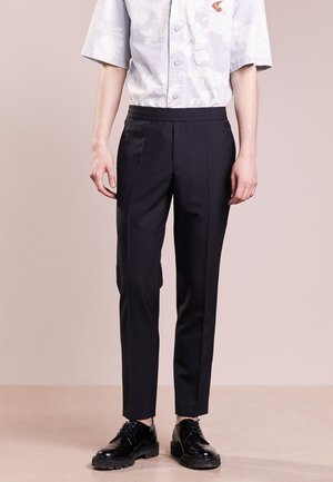 TERRY COOL SLACKS - Bukser - dark navy
