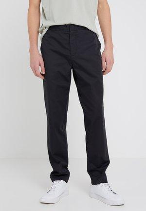 TOBY TROUSERS - Spodnie materiałowe - black