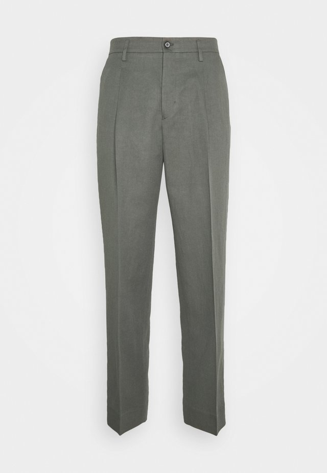 SAMSON TROUSER - Chinos - green grey
