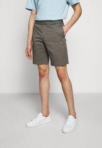 Filippa K - TERRY  - Shorts - green grey - 0
