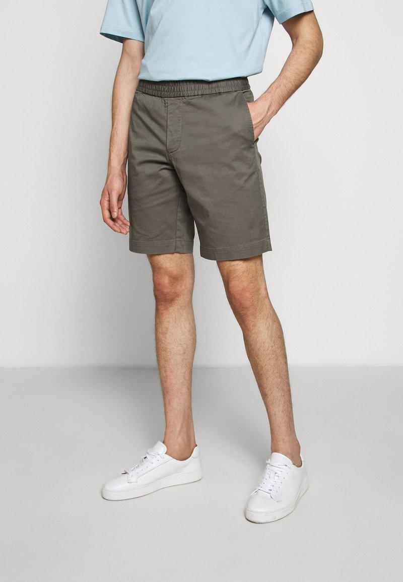 Filippa K - TERRY  - Shorts - green grey