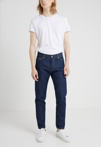 Filippa K - BYRON RAW - Jean droit - dark blue - 0