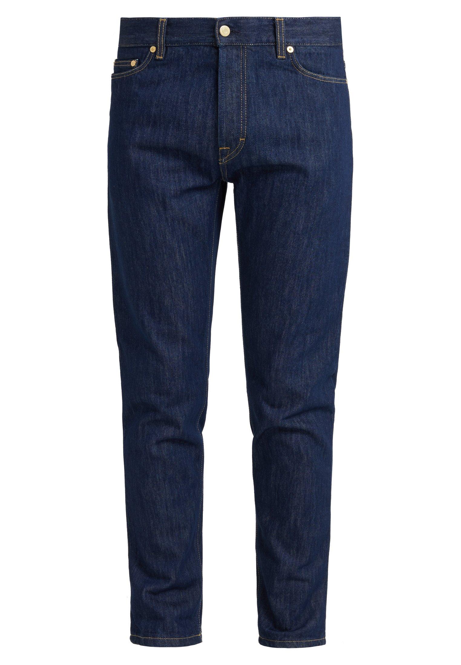 Filippa K Byron Raw - Straight Leg -farkut Dark Blue